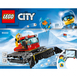 Notice / Instruction Lego City 60222