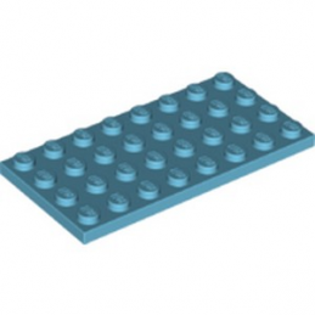 LEGO 6104130 - PLATE 4X8 - MEDIUM AZUR lego-6104130-plate-4x8-medium-azur ici :