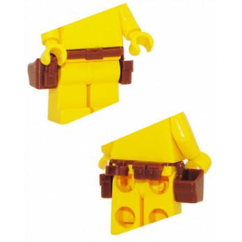 Accessoire Custom :  Ceinture avec holster - Marron  accessoire-custom-ceinture-avec-holster-marron- ici :