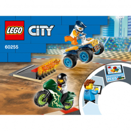 Notice / Instruction Lego City 60255