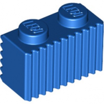 LEGO 6289241 BRIQUE 1X2 - BLEU