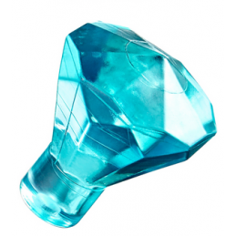 LEGO 6247792 DIAMANT - BLEU TRANSPARENT