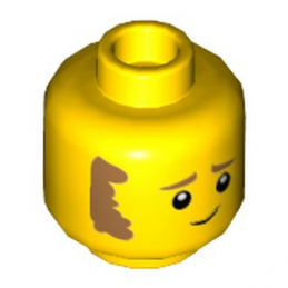 LEGO  6290549 TÊTE HOMME  lego-6290549-tete-homme- ici :