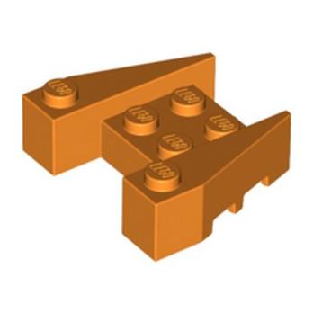 LEGO 6146905 BRIQUE 4X4/18° - ORANGE lego-6287381-brique-4x418-orange ici :