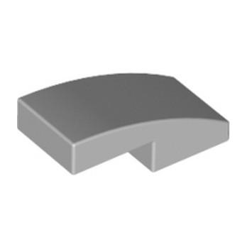 LEGO 6028813 PLATE W. BOW 1X2X2-3 - MEDIUM STONE GREY lego-6028813-plate-w-bow-1x2x2-3-medium-stone-grey ici :