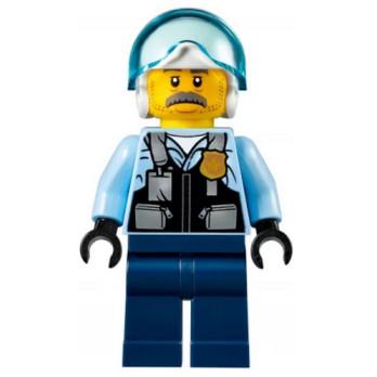 Mini Figurine LEGO® : City - Policier mini-figurine-lego-city-agents-de-la-force-publique-sam-grizzled ici :