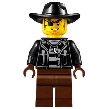 Mini Figurine LEGO® : City - Voleur Snake Rattler mini-figurine-lego-city-voleur-snake-rattler ici :