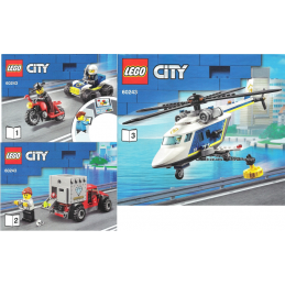Notice / Instruction Lego  City 60243
