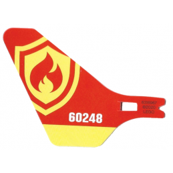 LEGO  6316967  QUEUE EN CARTON POUR HELICOPTERE (LANCEUR)