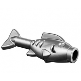 LEGO 4611885 POISSON / FISH - SILVER METAL