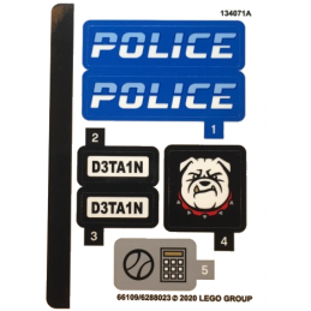 Stickers / Autocollant Lego City 60242 stickers-autocollant-lego-city-60242 ici :