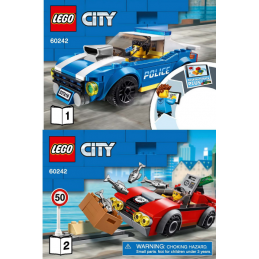 Notice / Instruction Lego  City 60242