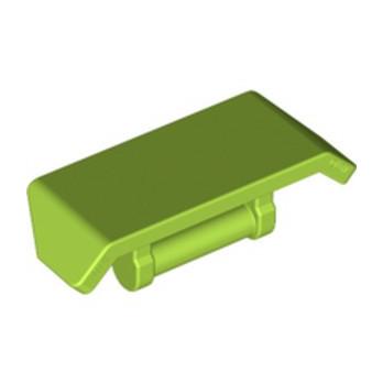 LEGO 6236563 SPOILER W. SHAFT Ø 3.2 - BRIGHT YELLOWISH GREEN lego-6236563-spoiler-w-shaft-o-32-bright-yellowish-green ici :