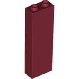 LEGO 6212048 BRIQUE 1X2X5 - NEW DARK RED