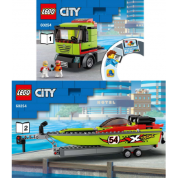 Notice / Instruction Lego  City 60254