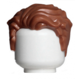 LEGO 6267760 CHEVEUX HOMME - REDDISH BROWN