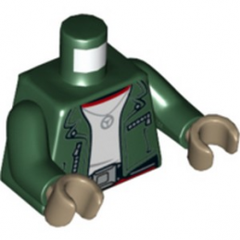 LEGO  6293400 TORSE - EARTH GREEN lego-6293400-torse-earth-green ici :