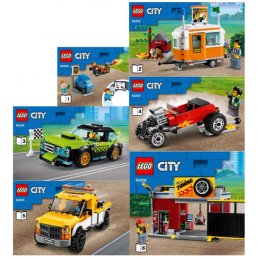 Notice / Instruction Lego  City 60258 notice-instruction-lego-city-60258 ici :