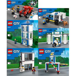 Notice / Instruction Lego  City 60246 notice-instruction-lego-city-60246 ici :