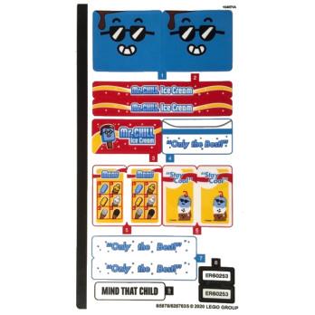 Stickers / Autocollant Lego City 60253