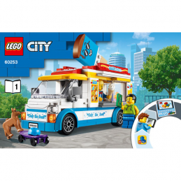Notice / Instruction Lego  City 60253