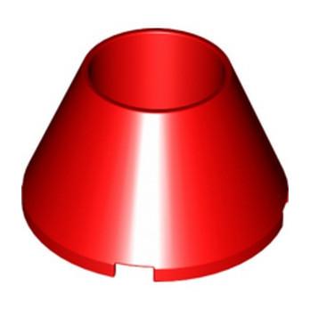 LEGO 6288249 CONE Ø32/Ø16 - ROUGE -lego-6288249-cone-o32o16-rouge ici :