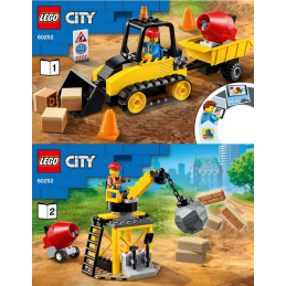 Notice / Instruction Lego  City 60252 notice-instruction-lego-city-60252 ici :