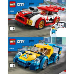 Notice / Instruction Lego  City 60256