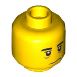 LEGO  6288010 TÊTE HOMME  lego-6288010-tete-homme- ici :