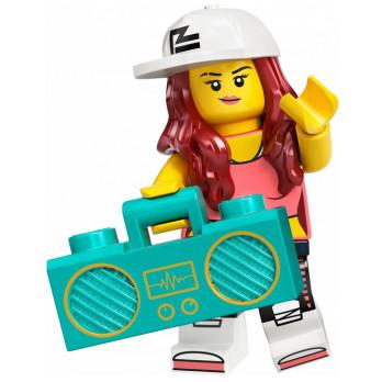 Mini Figurine LEGO® Série 20 - La danseuse de hip-hop