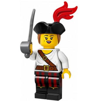 Mini Figurine LEGO® Série 20 - La fille pirate
