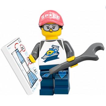 Mini Figurine LEGO® Série 20 - La fan de l'espace mini-figurine-lego-serie-20-la-fan-de-lespace ici :