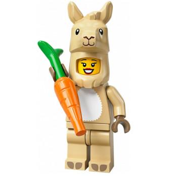 Mini Figurine LEGO® Série 20 - La fille en costume de lama
