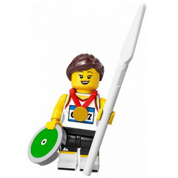 Mini Figurine LEGO® Série 20 - L'athlète mini-figurine-lego-serie-20-lathlete ici :