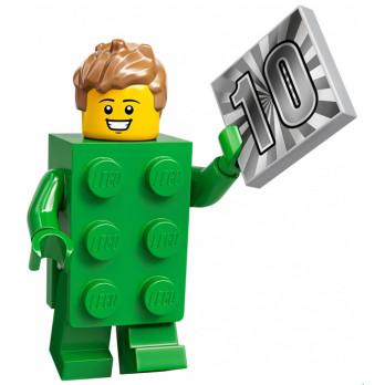 Mini Figurine LEGO® Série 20 - Le type en costume de brique
