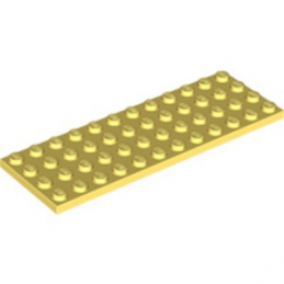 LEGO 6290533 PLATE 4X12 - COOL YELLOW lego-6290533-plate-4x12-cool-yellow ici :