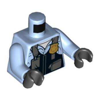 LEGO 6252270 TORSE POLICIER -lego-6252270-torse-policier ici :