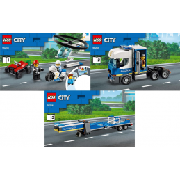 Notice / Instruction Lego  City 60244