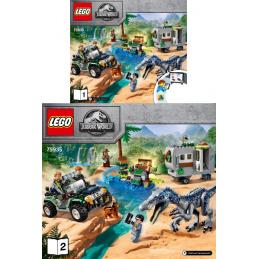 Notice / Instruction Lego  Jurassic World 75935