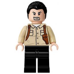Figurine Lego® Jurassic World - Vic Hoskins