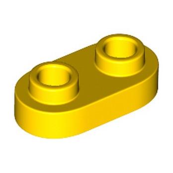 LEGO 6248971 PLATE 1X2, ROND - JAUNE