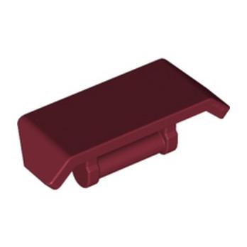 LEGO 6219659 SPOILER W. SHAFT Ø 3.2 - DARK NEW RED lego-6219659-spoiler-w-shaft-o-32-dark-new-red ici :