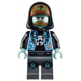 Mini Figurine LEGO® : Ninjago - Scott