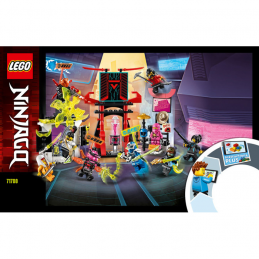 Notice / Instruction Lego Ninjago 71708