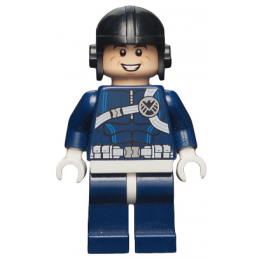 Mini Figurine LEGO® : Super Heroes - Agent du Shield