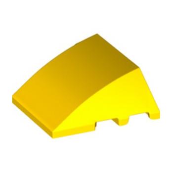 LEGO 6294281 BRIQUE 4X3 W. BOW/ANGLE - JAUNE