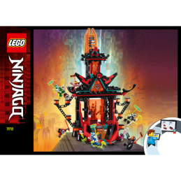 Notice / Instruction Lego Ninjago 71712