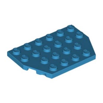 LEGO 6220712 PLATE 4X6 26° - DARK AZUR lego-6220712-plate-4x6-26-dark-azur ici :