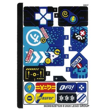 Stickers / Autocollant Lego Ninjago 71711 stickers-autocollant-lego-ninjago-71711 ici :