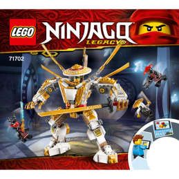 Notice / Instruction Lego Ninjago 71702